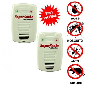 pack of 2 electronic supersonic insect and pest control machine 6 in 1