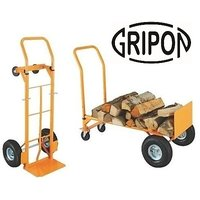 Gripon 250 Kg Capacity Two Way Hand Trolley With Air Wh