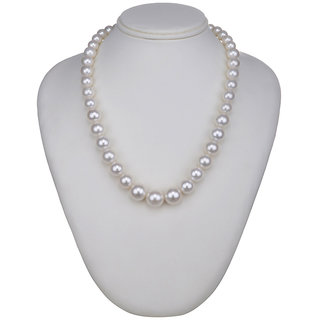 White Contemporary Pearls Necklace