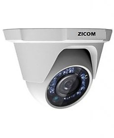 ZICOM HD DOME CAMERA 1 MP