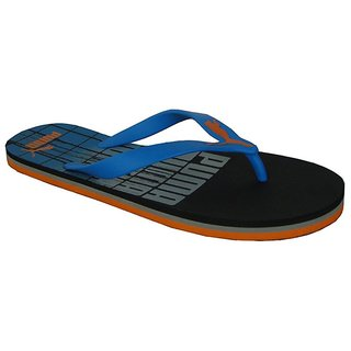 b75d822de Buy Puma Grant DP Slippers- Black- French Blue Online   ₹1099 from ...
