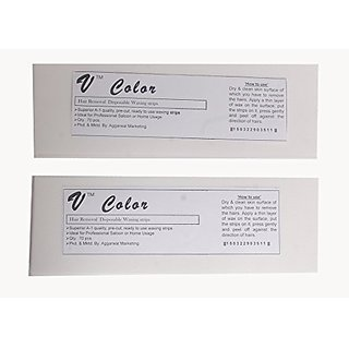 Makeup Mania Waxing Strips - White 140 Pcs
