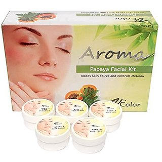 V-Color Aroma Papaya Facial Kit 270 g (5 Steps)