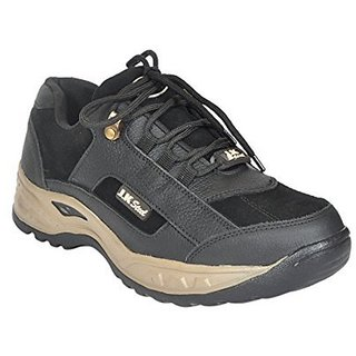 Safety Black Shoe With Steel Toe
