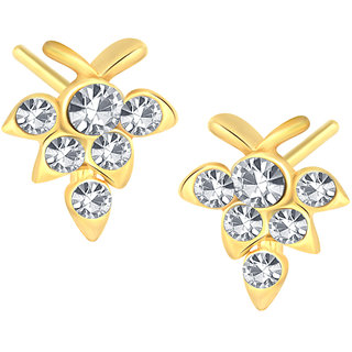 Shostopper Gold Plated Gold Alloy Studs for Women