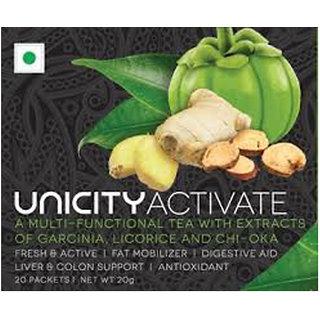 Unicity Activate - Multi-Functional Tea With Garcinia, Licorice, Chi-Oka - 20 N