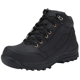 Men 1510 Black Synthetic Boots