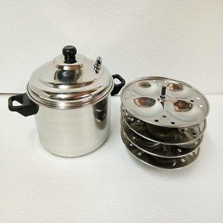 Mahavir16pc Idly Cooker - induction base