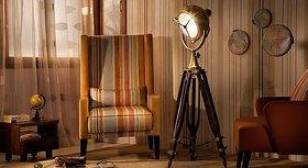 Designer Marine Search light Floor Lamp Nau ... pot Studio Tripod Floor Lamps