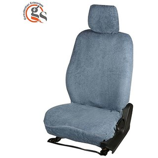 Buy GS Sweat Control Grey Towel Car Seat Cover For Tata Indica Vista