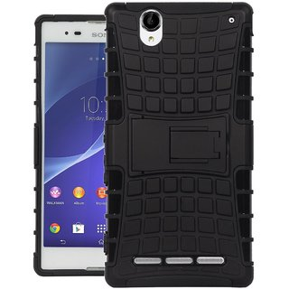 Superb Quality Defender Armor Dual Shockproof Back Case Sony Xperia T2