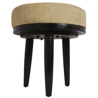 Ikiriya Solid Wood Roko Stool - Beige