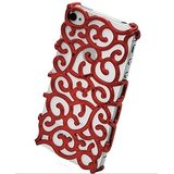 Kolorfish IDesign Back Case For IPhone 4/4S (RED)