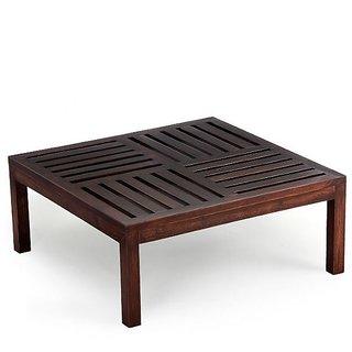 Ikiriya Solid Wood Coffee Table - Walnut  Large