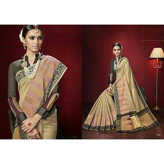 Pure cotton khadi designer Sare