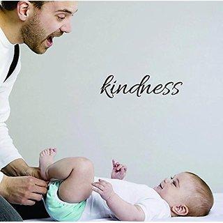 Design with Vinyl Moti 1827 2 Kindness Inspirational Life Quote, Self Esteem Peel & Stick Wall Sticker Decal, 8