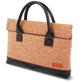 SIKAI patent MacBook Pro 15inch PU leather + Oak Cork bag Laptop handbag Cork bag Macbook bag Ventilative MacBook laptop