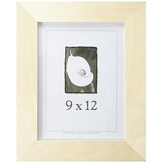 9x12 Unfinished Wood Frames - 2 inch Wide, DIY Picture Frame