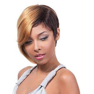ITS A WIG 100% Human Hair - HH CYNTHIA (#HS1B/27 - Off Black/Blonde)