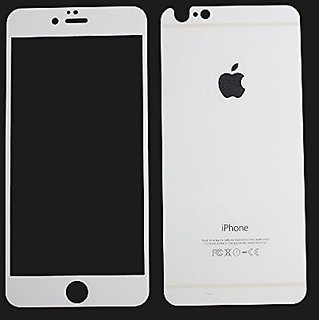 White Blingbling Full Cover Premium Tempered Glass Clear Screen Protector Film for Iphone 6 6S