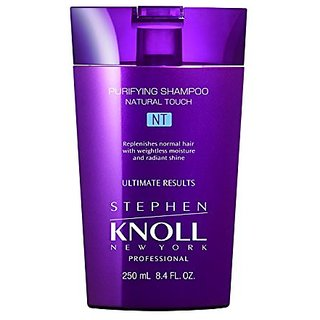STEPHEN KNOLL NEW YORK PROFESSIONAL Natural Touch Purifying Shampoo, 8.4 Fluid Ounce
