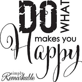 Vinyl Decal Sticker for Computer Wall Car Mac Macbook and More Do What Makes You Happy