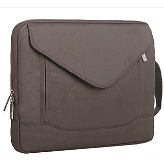 Mosiso Laptop Case, Envelope Nylon Fabric Shoulder Case Messenger Bag Pouch Sleeve for 13-13.3 Inch Laptop / Notebook /