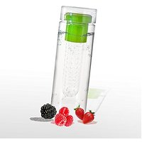 Optimum Fruit Infusing Water Bottle Healthy Detox Sports Tumbler 24oz in Green