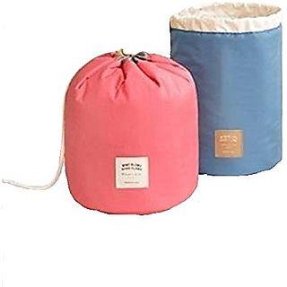 cbe28c27d4 Buy Waterproof Travel Bag Makeup bag Cosmetic Bag Travel Kit Organizer  Bathroom Storage Cosmetic Bag Carry Case Toiletry Bag Multifunctional  bucket toiletry ...
