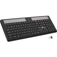 Xcellon Wireless Solar Keyboard For Windows XP, Vista,