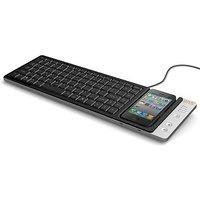 Omnio WOW-KEYS Full-sized, QWERTY PC Or MAC Keyboard Fo