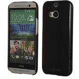 Stuffcool ALA Mode Hard Back Case Cover For HTC One M8 - Glossy Black