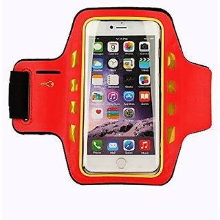 AiBOUSA LED Sport Armband for iPhone 5 / 5S / 6 / 6S (4.7inch), Ultra Slim Key Holder Sweat Resistance LED Headphone Con