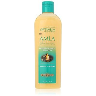 Optimum Care Amla Legend Moisture Remedy Shampoo, 13.5 Fluid Ounce