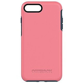 OtterBox SYMMETRY SERIES Case for iPhone 7 Plus (ONLY) - Retail Packaging - SALTWATER TAFFY (PIPELINE PINK/BLAZER BLUE)