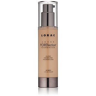 LORAC Sheer Porefection Foundation, Light Beige, 3.5 oz.