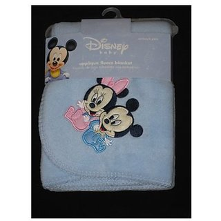 Disney Babies Mickey Mouse & Minnie Mouse Fleece Blanket