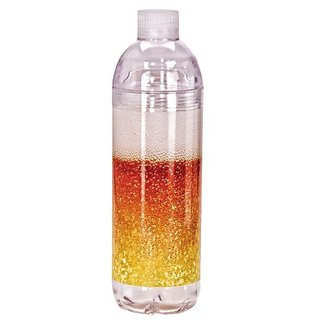Spoontiques Beer Acrylic Water Bottle, Gold