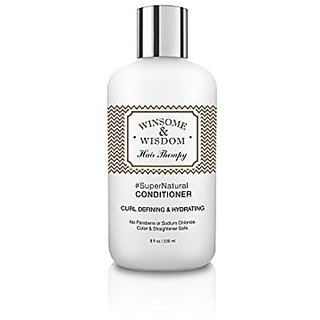 #SuperNatural Hydrating Conditioner- Winsome & Wisdom - Curly Hair Conditioner - No Parabens Moisturizing Conditioner Dr