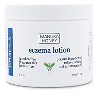 Eczema Treatment Cream Natural and Organic Therapy for Face, Hands, and Body by pHat 5.5 - Best Lotion for Relief of Itc