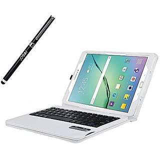 IVSO Samsung Galaxy Tab S2 9.7 Keyboard case - Ultra-Thin DETACHABLE Bluetooth Keyboard Stand Case / Cover for Samsung G