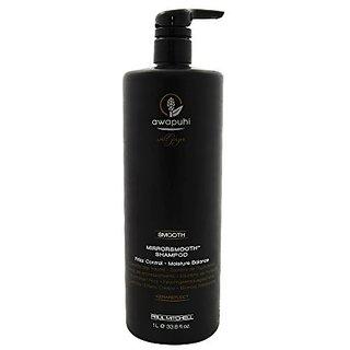Paul Mitchell Unisex Awapuhi Wild Ginger Mirrorsmooth Shampoo, 33.8 Ounce