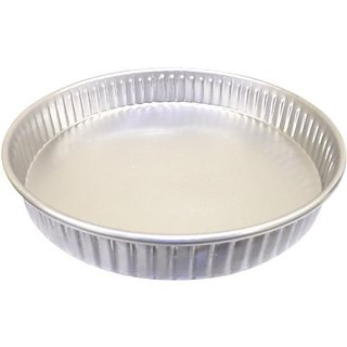 Allied Metal CPF6X2 Hard Aluminum Fluted Cake Pan, Straight Sided, 6 by 2-Inch