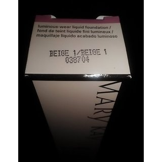 Mary Kay TimeWise Luminous Wear Liquid Foundation, Beige 1