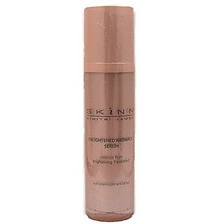 Skinn Cosmetics Enlightened Radiance Serum Intense Pure Brightening Treatment 1.7oz