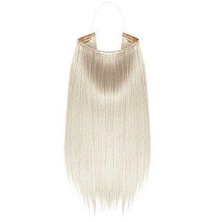 Tressecret 18-inch Flip-In Synthetic Fiber Extension, Pearl Blonde