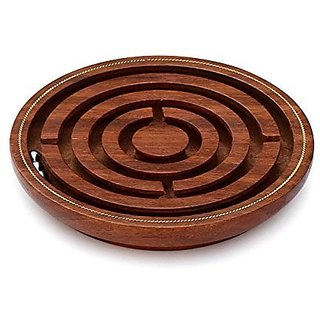 #1 Labyrinth Cyber Monday Sale / Deals 2016 - SouvNear Brain Teaser Hand and Eye Coordination Brain Game Gifts - Wooden