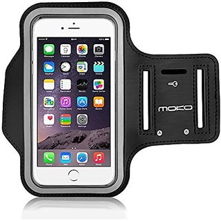 iPhone 6 Plus / iPhone 6s Plus Armband, MoKo Premium Sports Armband for Running, Workouts or Any Fitness Activity, Key H