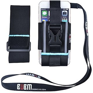 BUBM Sports Running Armband, Exercise Case Holder Armband Smartphone Sports Armband with Lanyard for Samsung Galaxy, NOT