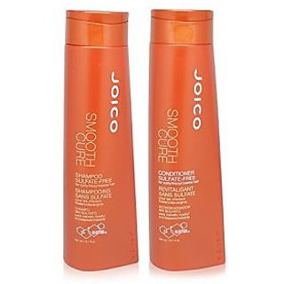 Joico Smooth Cure Shampoo & Conditioner Duo, 10.1 Ounce Bottles